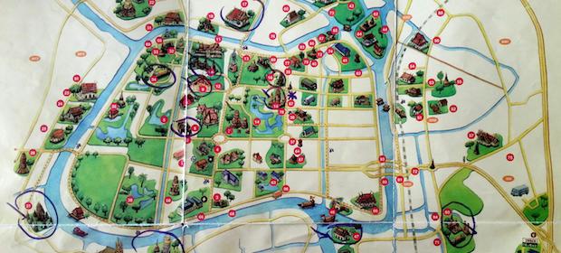 Karte Ayutthaya