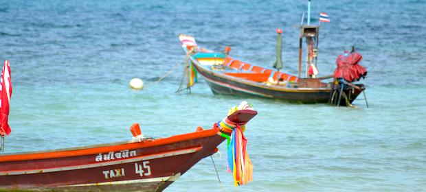Koh Tao Longtailboat