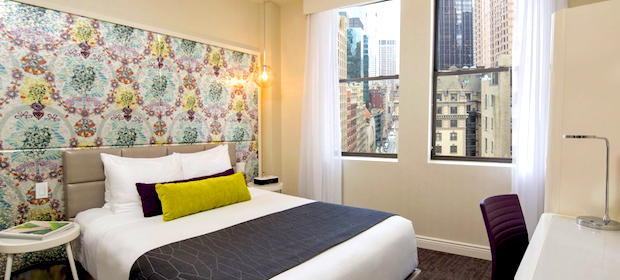 Zimmer im Dream Hotel New York