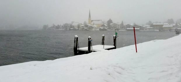 Tegernsee Schneestrum