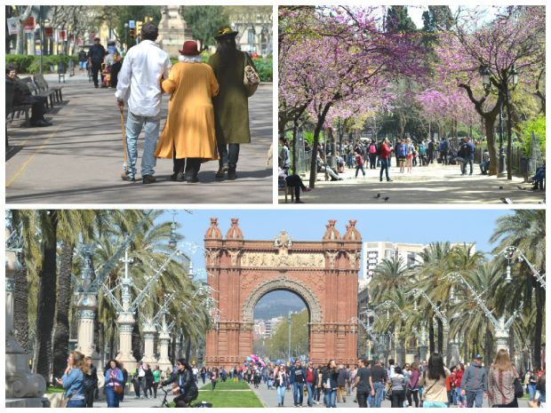 Barcelona Triumpfbogen