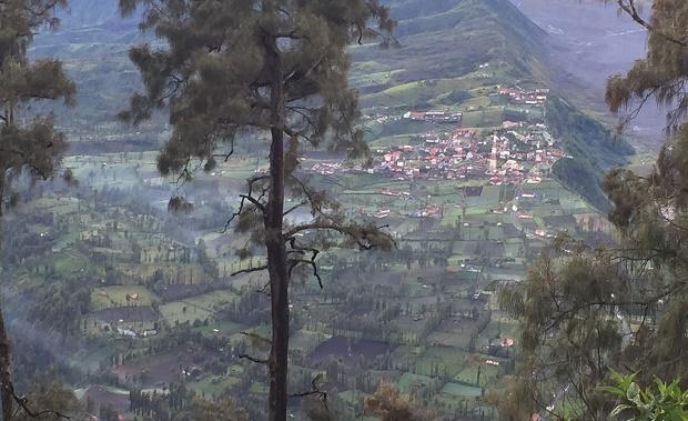 Dorf Bromo