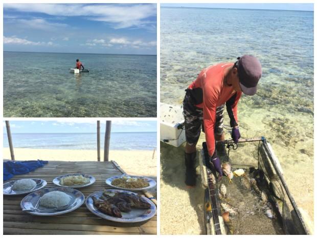 Fischfang auf Pulau Samalona