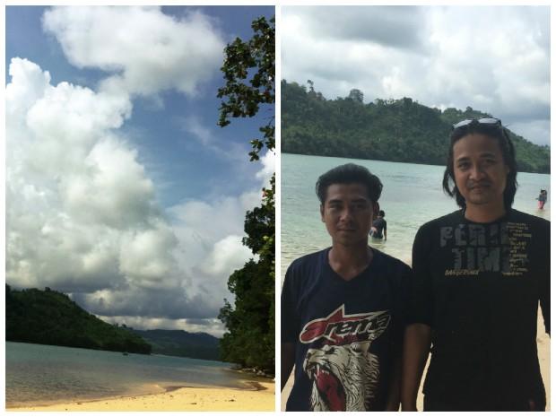 Pulau Sempu Bootsmann