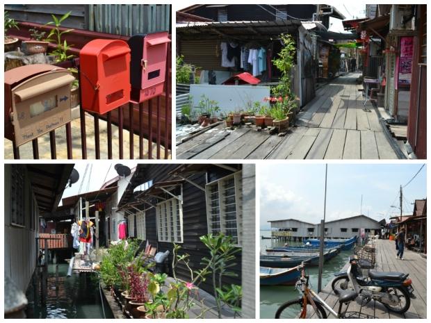 Schwimmendes Dorf Penang
