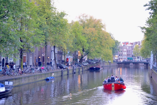 Amsterdam Bootsfahrt