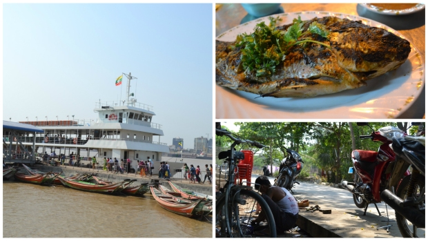 Yangon Insel Dala