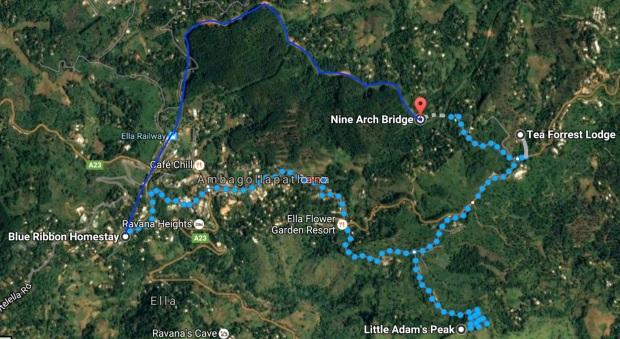 Route Little Adams Peak