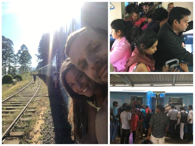 Zugfahrt nach Kandy